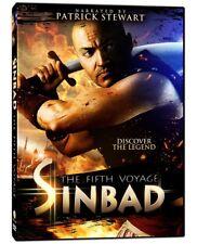 NEW DVD // THE FIFTH VOYAGE OF SINBAD -  Patrick Stewart, Shahin Sean Solimon, L