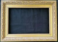 "14"" X 9"" Picture Frame Painting Frame Ornate Gold Finish Wood Wooden"