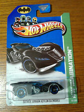 HOT WHEELS BATMAN: ARKHAM ASYLUM BATMOBILE HW IMAGINATION NIP 2012 MATTEL