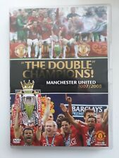 MANCHESTER UNITED DOUBLE CHAMPIONS SEASON REVIEW 2007 / 2008 DVD MAN UTD