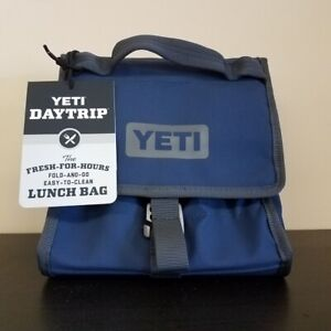 YETI DayTrip Lunch Bag Charcoal or Blue NEW with tags  Free 2 day shipping