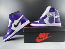 Nike Air Jordan 1 Retro High OG Athletic Shoe for Men, Size 9.5 - Court Purple
