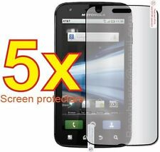 5-pack Crystal Clear Screen Protector for Motorola Atrix 4G MB860