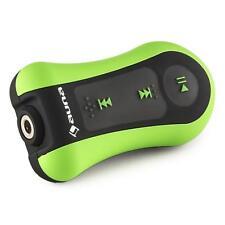 UNDER WATER MP3 PLAYER 8 GB MEMORY WATERPROOF CLIPS HEADPHONES SURF SWIM GREEN