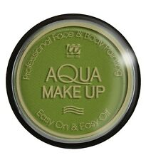 Trucco ad Acqua, Make Up  Verde body painting professionale 15gr  *24815
