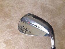 Adams Golf Tom Watson 52° Gap Wedge 8° Bounce Wedge Flex Steel Shaft