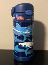 Thermos Funtainer Bottle 12 oz Sharks