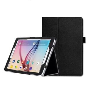 """PU Leather Folio Case Cover for Samsung Galaxy Tab S 8.4"""" SM-T700 SM-T705"""