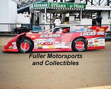 EARL PEARSON JR 2006 #1P DIRT LATE MODEL CAR 8X10 PHOTO LUCAS OIL FORD