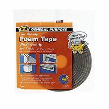 Open-Cell Foam Weatherstrip Tape