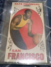 Nate Thurmond 1969 Rookie card