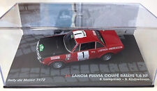 1:43 LANCIA FULVIA COUPE 1.6 HF RALLY MAROCCO 1972 LAMPINEN MODEL CAR DIECAST