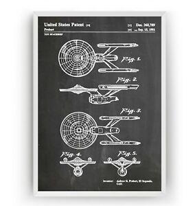 Star Trek Beyond USS Enterprise Movie Canvas Modern Art ~ 5 Size to Choose