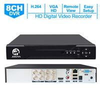 JOOAN 8CH 1080P CCTV Security IP Camera Überwachungskamera 5-IN-1 DVR Recorder