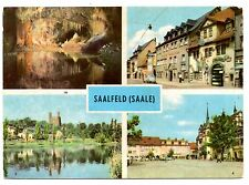 Saalfeld Saale Germany Postcard Feengrotten Gralsburg Markt Blankenburger Strabe