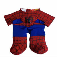 Build A Bear Workshop Clothing Spiderman Outfit Red Blue BABW