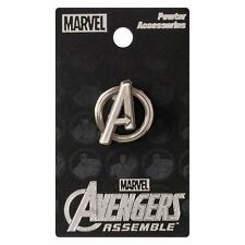 "AVENGERS ""LOGO PEWTER LAPEL PIN"" Marvel Comics NEW IN PACKAGE"