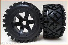 1/5 Baja Wheels &Tyres All Terrain style Rear fit Baja 5B PRC King Motor Rovan