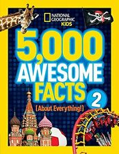 5,000 Awesome Facts (About Everything!) 2 (National Geographic Kids) New Hardcov