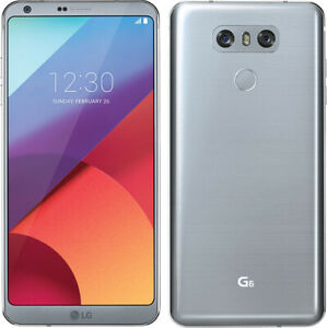 NEW - LG G6 - H872 -  32GB Android  (T-Mobile )+ (UNLOCKED) Ice Platinum