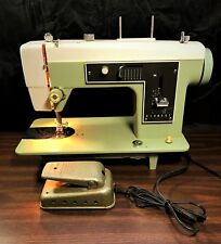 VTG Sears Kenmore Zig Zag Sewing Machine & Pedal Model 148.12070 All Metal Japan