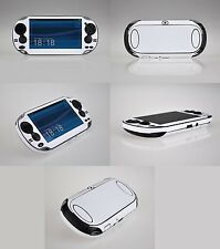 White Carbon Fiber Vinyl Decal Skin Sticker for Sony PlayStation PS Vita PSV