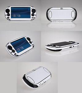 White Carbon Fiber Vinyl Decal Skin Sticker for Sony PlayStation PS Vita PSV