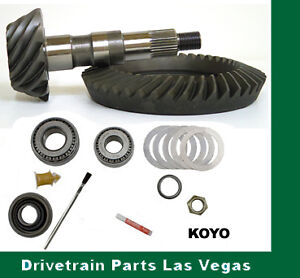 """Motivator GM Chevy 7.5"""" 4.10 Ratio RIng and Pinion Gear Set Install Kit Early"""