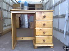 PINE FURNITURE REGENCY SINGLE PEDISTAL DRESSING TABLE