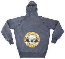 AMPLIFIED Vintage GUNS N'ROSES Drum Logo ViP Sweater Kapuzen Pulli ZIP Hoodie L