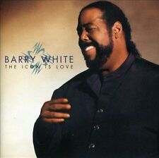 The Icon Is Love [Bonus Track] by Barry White (CD, Oct-1994, A&M (USA))
