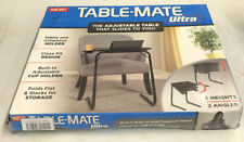 TABLE-MATE ULTRA ADJUSTABLE 6 HEIGHTS/3 ANGLES HOLD PHONES/ TABLES CUPHOLDER