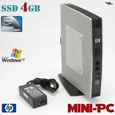HP MINI COMPUTER PC  INTEL ATOM N280 1.6GHZ DDR3 SSD 4GB RS-232 QUAKE WINDOWS XP
