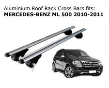 Aluminium Roof Rack Cross Bars fits MERCEDES BENZ ML 500 2010-2011