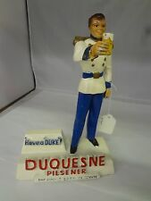 VINTAGE DUQUESNE BEER GARDEN BAR TAVERN ADVERTISING CHALK WARE FIGURINE    M-83