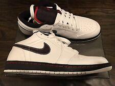 Nike Air Jordan 1 Phat Low White Red Black Mens Size 11 Brand New In Box