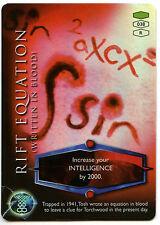 Rift Equation #38 Torchwood 2006 TCG CCG Foil Card (C319)