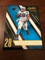 Jonathan Stewart 2016 Panini Absolute Panthers Card #58 *870*