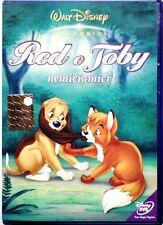 Dvd Red e Toby - NemiciAmici Classici Disney Ologramma tondo 1981 Usato raro