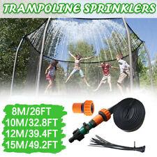 Trampoline Sprinkler Outdoor Kid Water Sprinkler Summer Water Fun for Kid Yard T