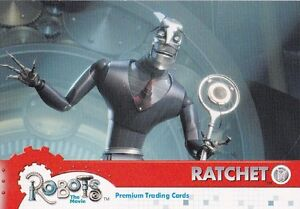 """ROBOTS THE MOVIE PREMIUM TRADING CARDS PROMO CARD P-2 """"RATCHET""""  MARCH 2005"""