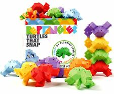 Fat Brain Toys Reptangles Turtles that Snap Age 6+ ~ New, Sealed