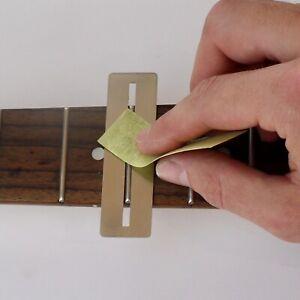 Guitar Fret Polishing Kit Luthier Setup Tool