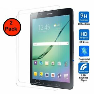 2 Pack Genuine Tempered Glass for Samsung Galaxy Tab A 10.1inch(SM-T580 / T585)