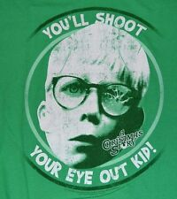 A Christmas Story Holiday Christmas T-Shirt You'll Shoot Your Eye Out Kid!