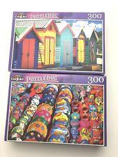 Puzzlebug Jigsaw Puzzle 300 Pieces. Bathing Boxes + Souvenirs