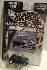 Hot Wheels Hall of Fame Greatest Rides 2001 MINI COOPER~Union Jack Roof*****MINT