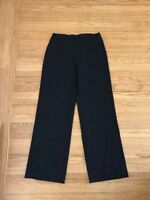 ARMANI Collezioni black high Rise waist Trouser pants sz 6/ 42 Made in Italy