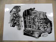Zeichnung VOLKSWAGEN VW Polo Dieselmotor 02/91 SR1017