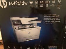 New  HP LaserJet Pro MFP M426fdw All-in-One Laser Printer - White (F6W15A)